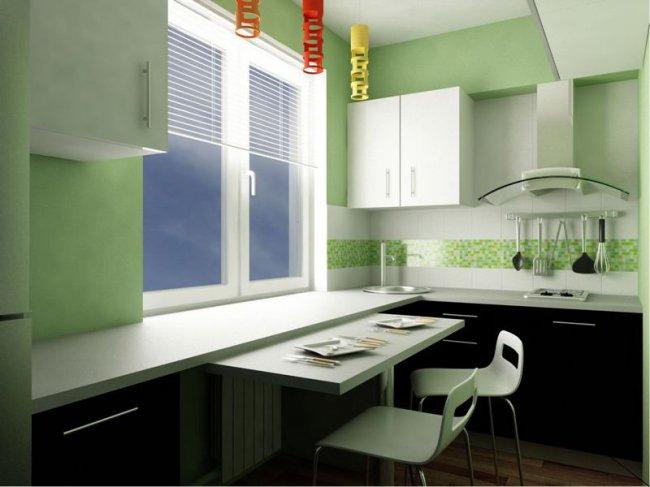 фото ремонта кухни 6 м кв